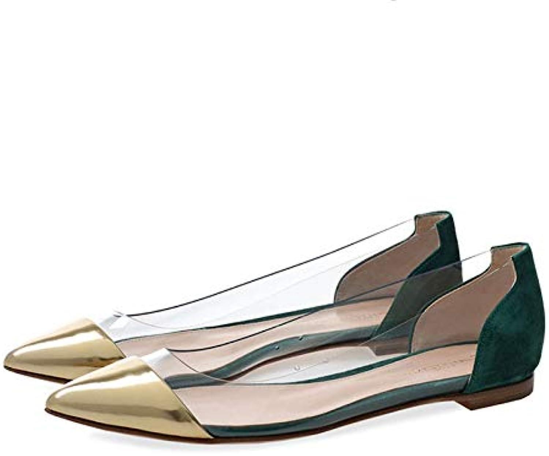 Unyielding1 Women's Ballet Comfort Light Multi color shoes Flat High Heels Single shoes
