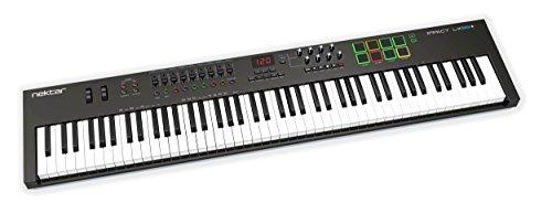 Nektar Technology IMPACT LX88+ DAW連携MIDIキーボードコントローラー エンコーダー/フェーダー/トランス...