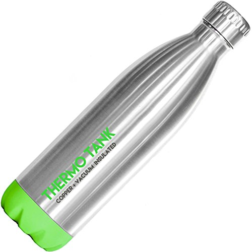 Thermo Tank Insulated Stainless Steel Water Bottle...