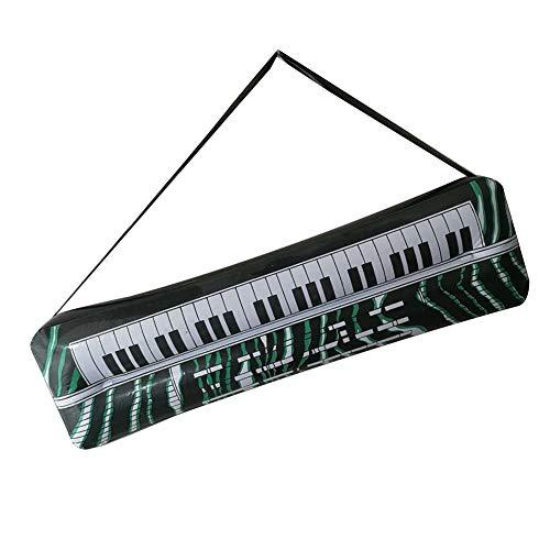 0Miaxudh Aufblasbare Requisiten, PVC Aufblasbare Gitarre Mikrofon Lute Musikinstrument, Kinder Spielzeug, Party Requisiten Electronic Keyboard