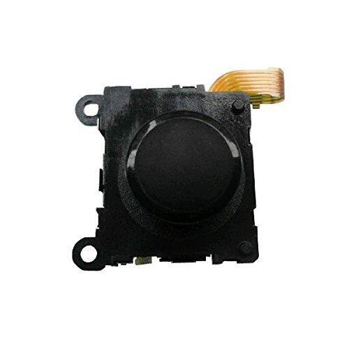 OSTENT Reemplazo de joystick analógico de alta calidad con botón 3D compatible con Sony PS Vita PSV - Color negro