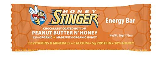 Honey Stinger Energy Bar, Peanut Butter 'n' Honey, Sports Nutrition, 1.75 Ounce (Pack of 15)
