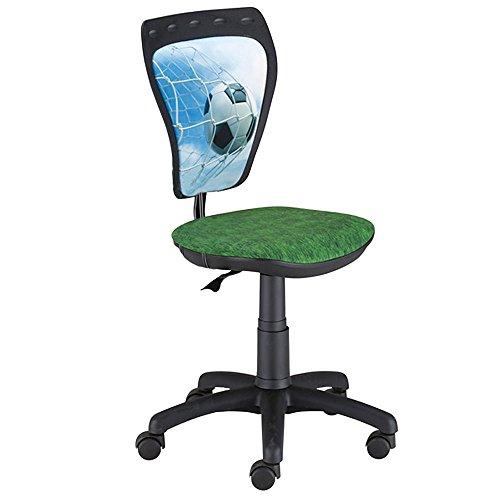 NOWY STYL Jugend Büro Dreh Stuhl Schreibtisch Spiel Zimmer Kinder Fußball WBM06-GZ5B-AA5XH4-000000