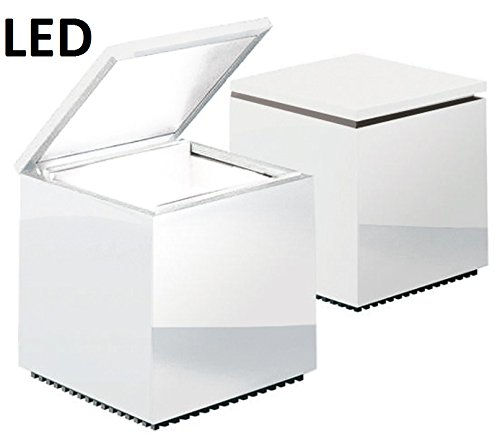 Preisvergleich Produktbild Cuboled LED Nachttischleuchte,  weiß LxBxH 10x10x11cm 1x LED 2W 2700K CRI90