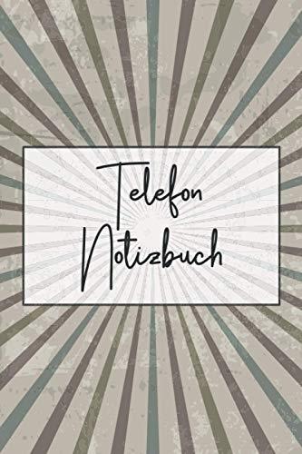 Telefon Notizbuch: Gesprächsprotokoll für das Büro und Telefongespräche