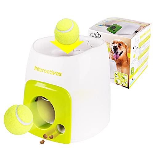 Automatische Ball Launcher Pet Feeder Voor Honden, Fetch Tennis Bal Hond Training Speelgoed Interactieve Worpel Ball…