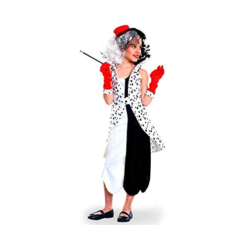 Yuppiyei Disfraz de Villana Cruel para niña