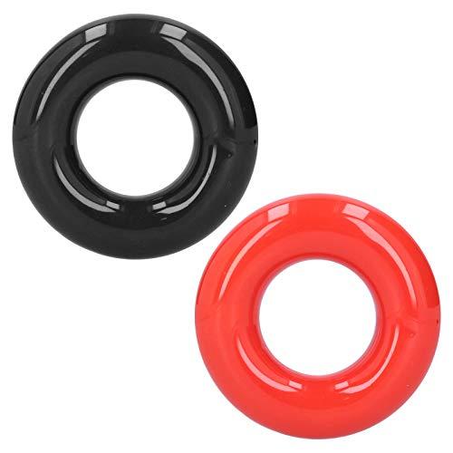 HelloCreate Golf Club - Anillo redondo de ajuste para pesas (accesorios de entrenamiento, color negro y rojo)