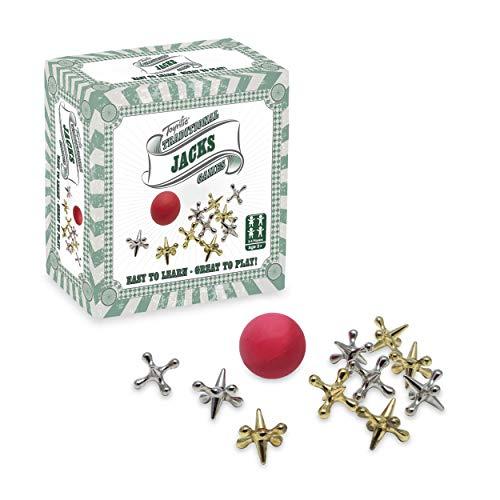 Toyrific Jacks-Spiel, klassisches Kinder-Spiel-Set–einzelnes Set