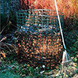 Jumbo Leaf Mould Compost Bin