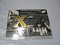 X エックス PSYCHEDELIC VIOLENCE CRIME OF VISUAL SHOCK 金属製ロゴバッジ2個セット