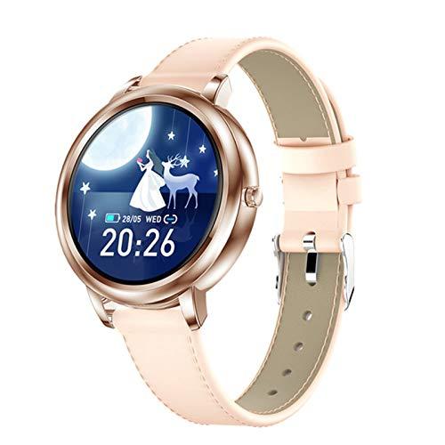 Reloj Inteligente HK20 De La Nueva Mujer Personalizada Personalizada con Ritmo Cardíaco De Bluetooth Y Presión Arterial Que Mide La Pulsera De Navidad para Android iOS,A
