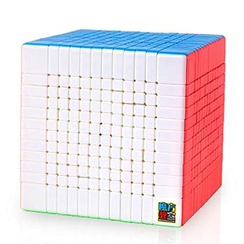 CuberSpeed Moyu MoFang JiaoShi Meilong 12x12 stickerless Cube MFJS MEILONG 12x12x12 Cubing Classroom Speed Cube