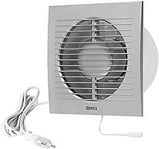 Ø 100 mm wandventilator ventilator ventilator afvoerlucht kabel schakelaar ventilator keuken toilet badkamer met stekker k...