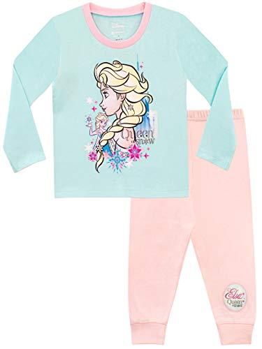 Disney Mädchen Frozen Die Eiskönigin Schlafanzug Rosa 110