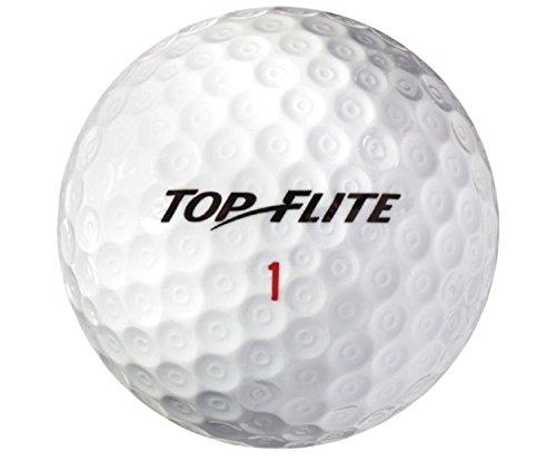 12 Pack Top Flite Gamer Urethane Golf Balls - White (One Dozen)