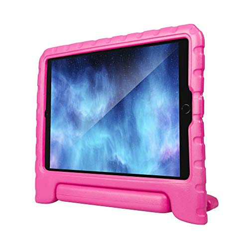 Xqisit Stand Kids - Funda para iPad 10,2/10,5 (2019), Color Rosa