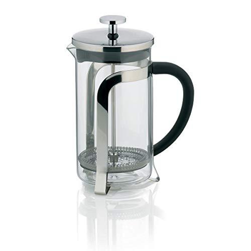 Kela 10851 Kaffeebereiter, 4 Tassen, 0,6 Liter, Glas/Edelstahl, Venecia