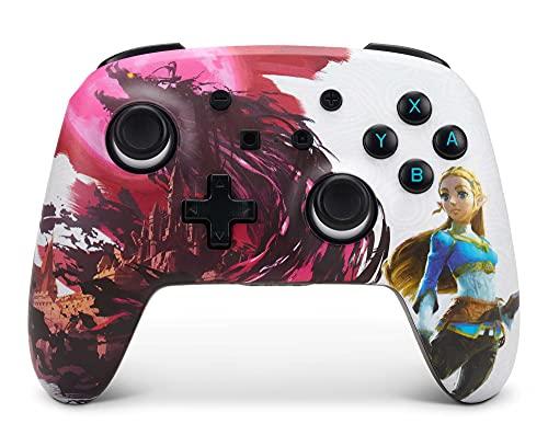 PowerA Enhanced Wireless Controller for Nintendo Switch - Blood Moon Zelda, Nintendo Switch Lite,...