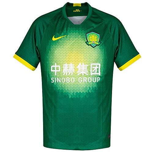 Nike Herren Bj BRT Stad JSY Ss Hm Unterhemd, Pine Green/Opti Yellow, M