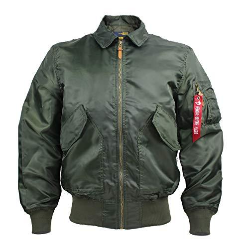 Men's Jackets-Windproof Flight Bomber Jacket Lightweight Coats Windbreaker Outwear (army green, large)