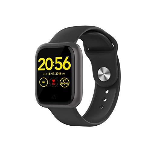 Smartwatch, Reloj Inteligente IP68 Pulsera Actividad con Ritmo Cardíaco, eloj de Fitness con Podómetro Smartwatch Mujer Hombre niños para Xiaomi HuaweiI Teléfono