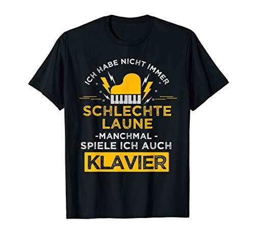 Klavierspieler Klavier Geschenk klassische Musik Piano T-Shirt