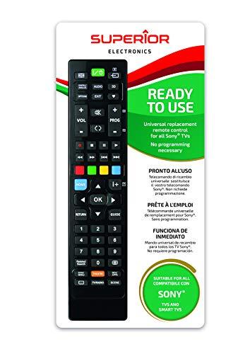 Telecomando universale per tutti i televisori SONY pronto all uso non richiede programmazione.