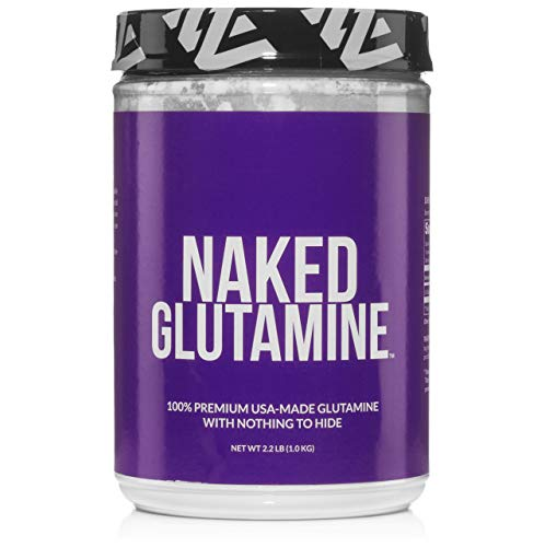 Pure L-Glutamine Made in The USA - 200 Servings - 1,000g, 2.2lb Bulk,...