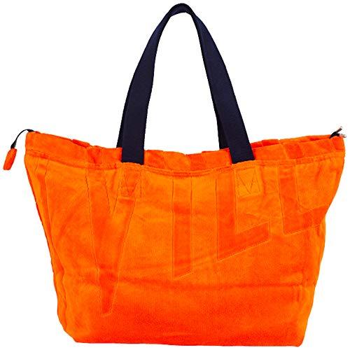 Vilebrequin, Große Solid Jacquard-Strandtasche aus Frottee