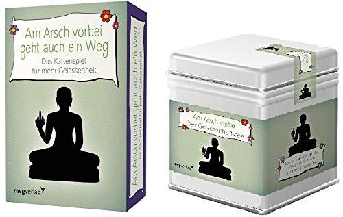 Alexandra Reinwarth Am Arsch vorbei geht auch EIN Weg - Gelassenheitstee + Kartenspiel