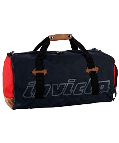 Borsa Sport Invicta, Duffle Bag, Blu Rosso, 37 Lt, Sport & Viaggi