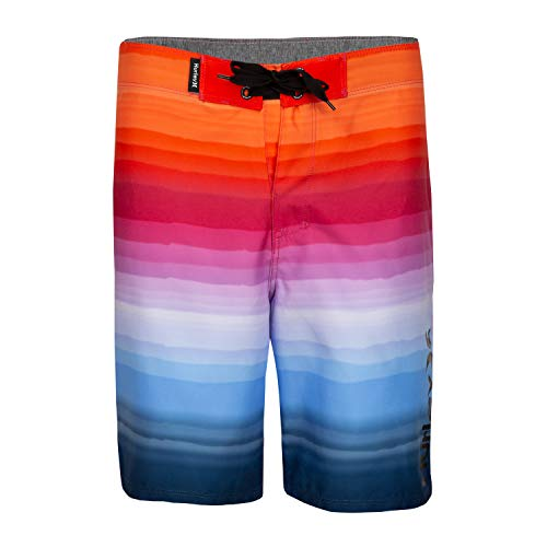 Hurley Boys' Classic Board Shorts, Fire Pink, 6