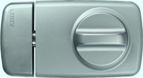 ABUS Tür-Zusatzschloss 7010, mit Drehknauf, silber, 53269