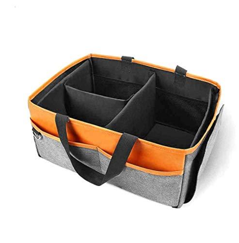 Portable Diaper Nappy Organizer Box Caddy Nursey Storage Organizer Hand Bag Baby Shower 40X40X25Cm Y-