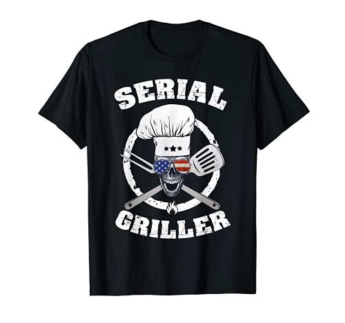 Serial Griller Saison De BBQ Pour Les Amateurs De Viande T-Shirt