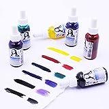 Monalisa Liquid Watercolor Set- set de pintura líquida de acuarela 6x30ml- para pintura de acuarela, caligrafía, ilustración, handlettering -Set para principiantes, pintores aficionados y artistas