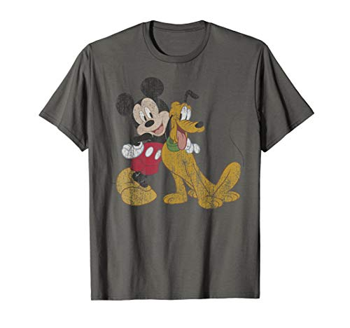 Disney Mickey And Pluto Classic Friends T-Shirt