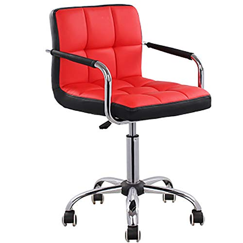 SLTO, bürostuhl drehbare riemenscheibe tagungsraum Big boss Computer Stuhl barhocker barhocker höhenverstellbarer sessellift-red