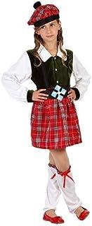 Atosa - Disfraz de escocesa para niña, talla 116 (8422259061380)