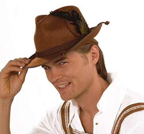 Forum Novelties Deluxe Brown German Oktoberfest Costume Hat