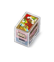 in budget affordable Japanese playing card set Nintendo Hanafuda Miyako no Hana RED