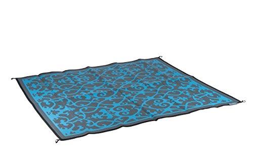 Bo Leisure Picknick-Teppich Azurblau 2x 1,8m, Uni, Pique Nique, Azur, 2 x 1,8 m