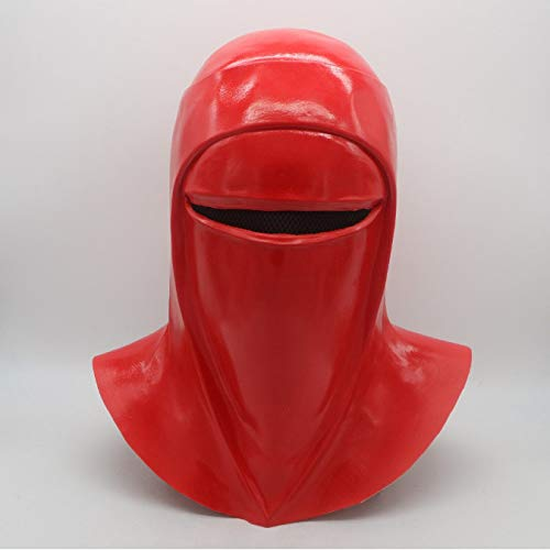 Cosplay Star Fight Imperial Guard Helm Royal Guard Rote Latexmaske, Handgemachtes Halloween Party Prop Kostüm, Für Kostüm Party Ballkleid