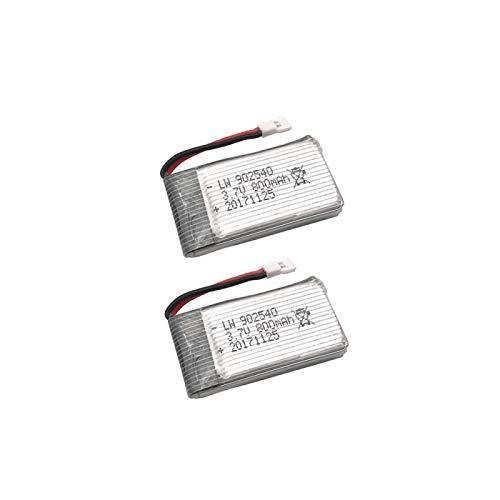RFGTYH Batería Lipo de 3.7V 800mAh 30C para Syma X5C X5SC X5SW Q7 RC Quadcopter...