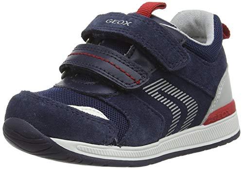 Geox B RISHON Boy B First Walker Shoe, Navy, 25 EU