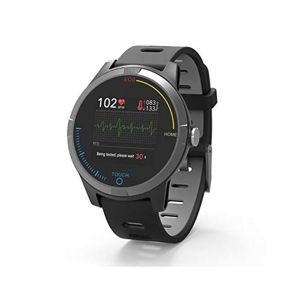 PRIXTON – Reloj Inteligente Smartwatch para Android e iOS con Electrocardiograma, Presión en Sangre, Pulsometro… 1