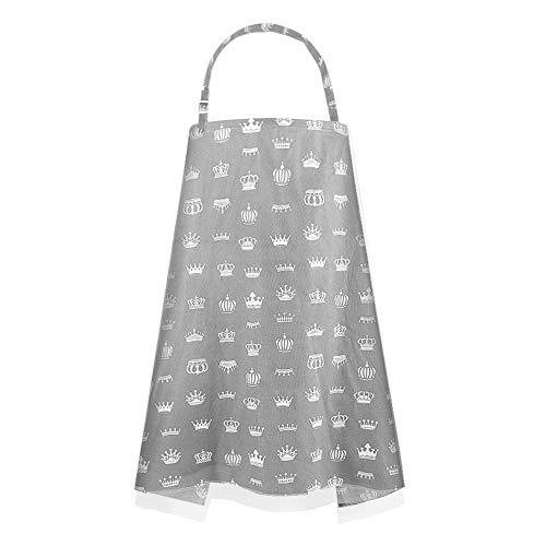 Godya Toalla de Lactancia para bebés Toalla de Lactancia Multiusos Ropa de Abrigo Cubierta de Capa de Verano Artifact Stroller Mosquito Net