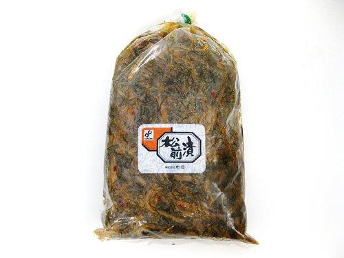 松前漬 2kg 業務用 (醤油漬けの松前漬け) 数の子・イカ・昆布を使用した元祖まつまえづけ マツマエヅケ
