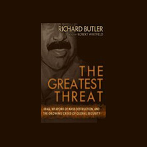 The Greatest Threat audiobook cover art